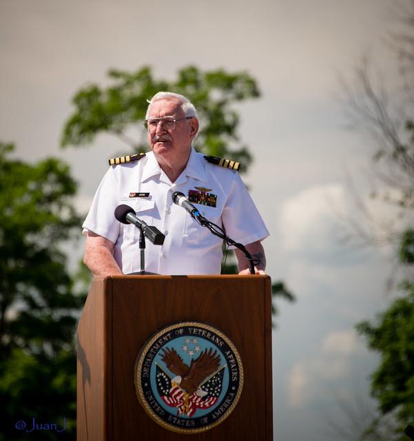 Chaplain Dean Cook, Captain, U.S. Navy (Ret)