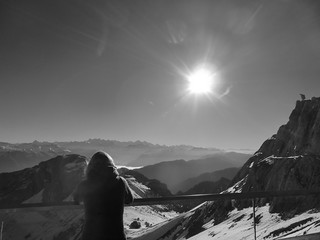 Pilatus Kulm, Alpnach OW, Switzerland - View from Pilatus Mountain