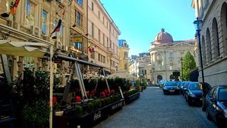Terrace in Bucharest