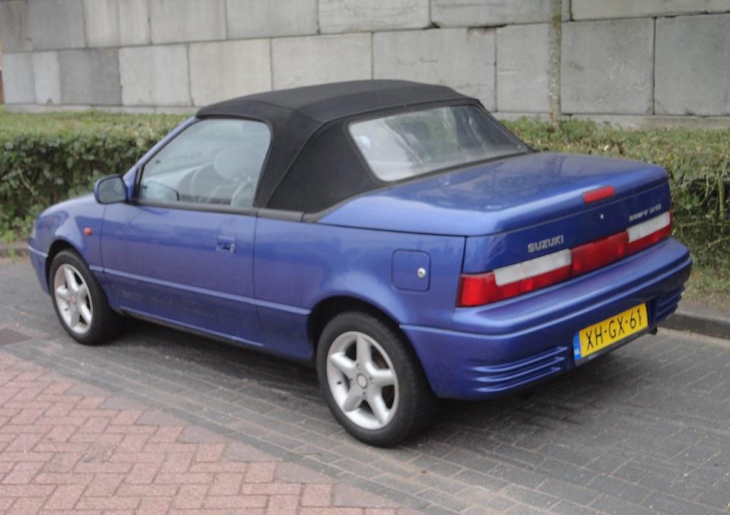 Suzuki Swift mk2 1 3 GS Cabrio 6-8-1993 XH-GX-61 | import in