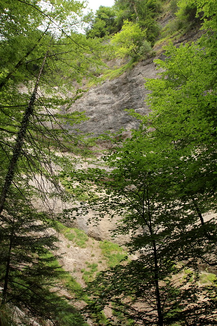 Cholerenschlucht - Cholereschlucht ( Schlucht gorge canyon gola ) in den Berner Voralpen ( Alpen Alps ) ob Hünibach am T.hunersee im Berner Oberland im Kanton Bern der Schweiz