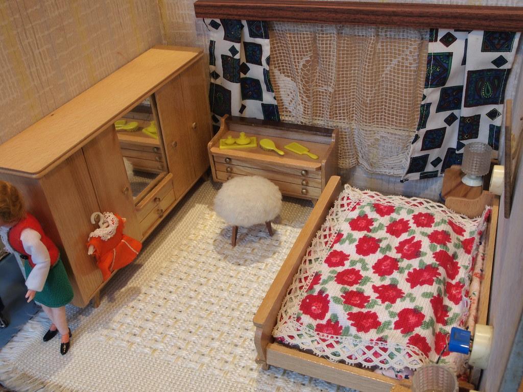10er DDR Puppenhaus - Schlafzimmer Hermann Rülke | Flickr