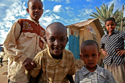 people children street kenya