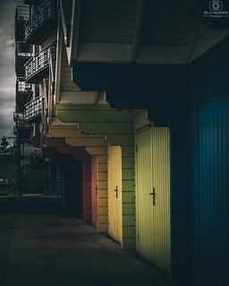 Scarborough Huts | by billyredden