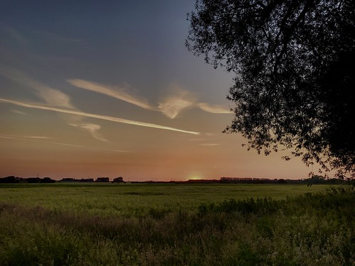 countryside scunthorpe outside outdoors horizon fields agriculture farming crops nlincs lincolnshire nature sunset cirrus cloud sky field landscape