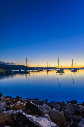 view dream sunrise color brisbanewater nature dawn reflections tascott bay boats background newsouthwales water koolewong nsw scene silhouettes scenery beautiful travel coastal scenic daybreak sky waterscape australia centralcoast landscape coast