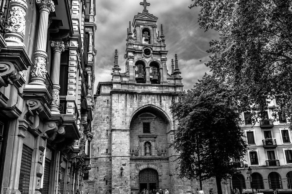 Parroquia San Vicente Martir De Abando Bilbao Roberto Gonzalo Flickr