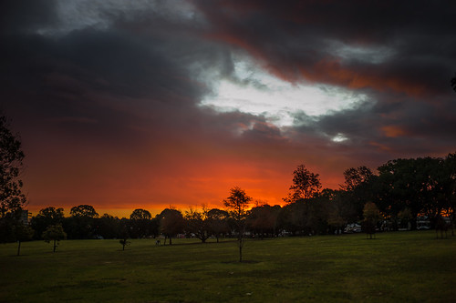 sunset sundown dusk twilight sky clouds toowoomba queenspark queensland australia summilux 35mm leica orange red