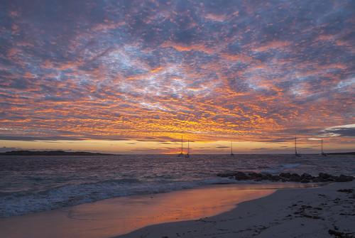 sxm stmartin stmaarten sintmaarten sunrise orientbeach orientbay morning dawn spectacular tropical caribbean fwi