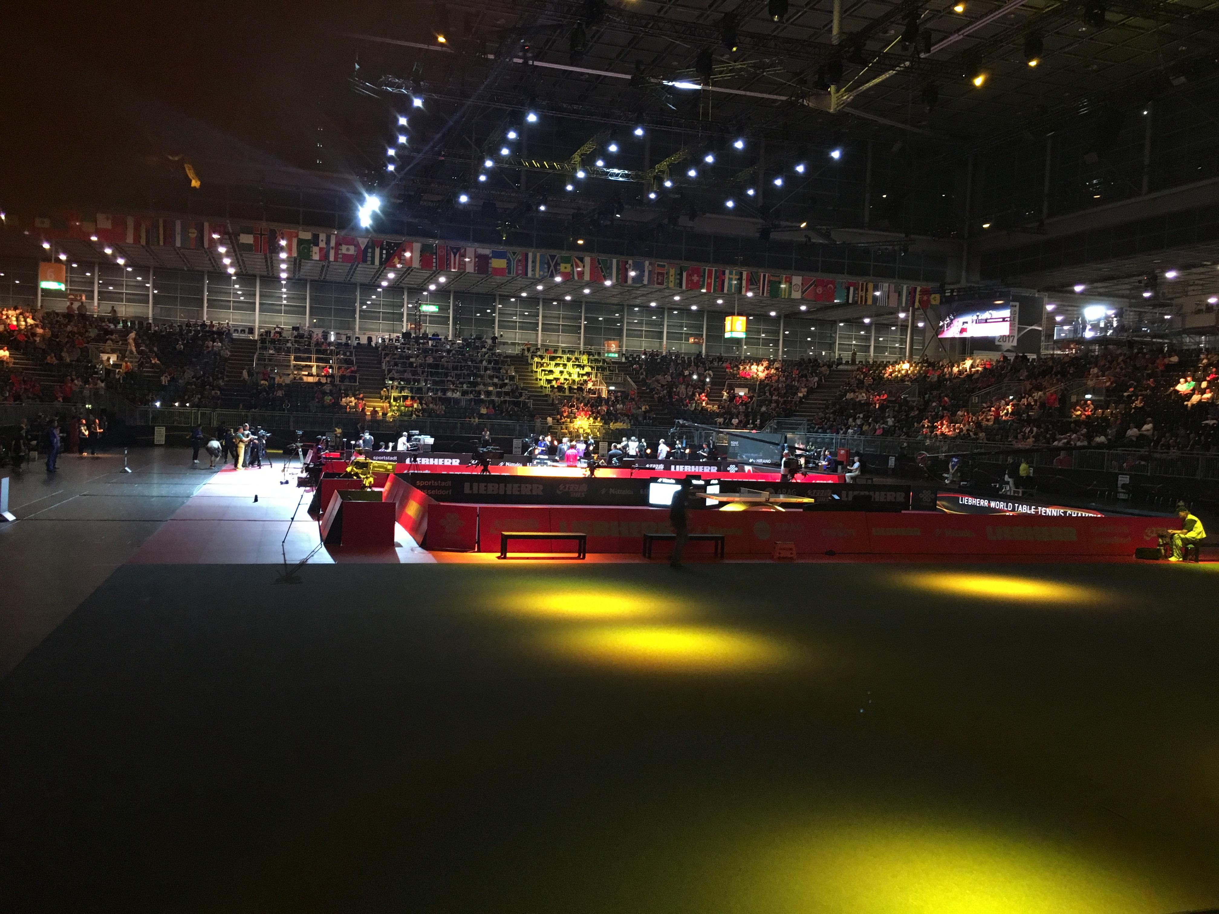 TT-WM in Düsseldorf 2017
