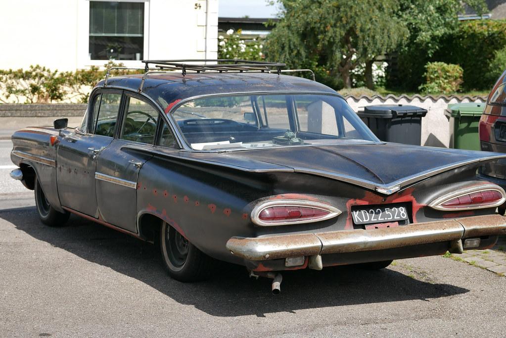 Originaler Chevrolet Bel Air 1959 der Olsenbande ...