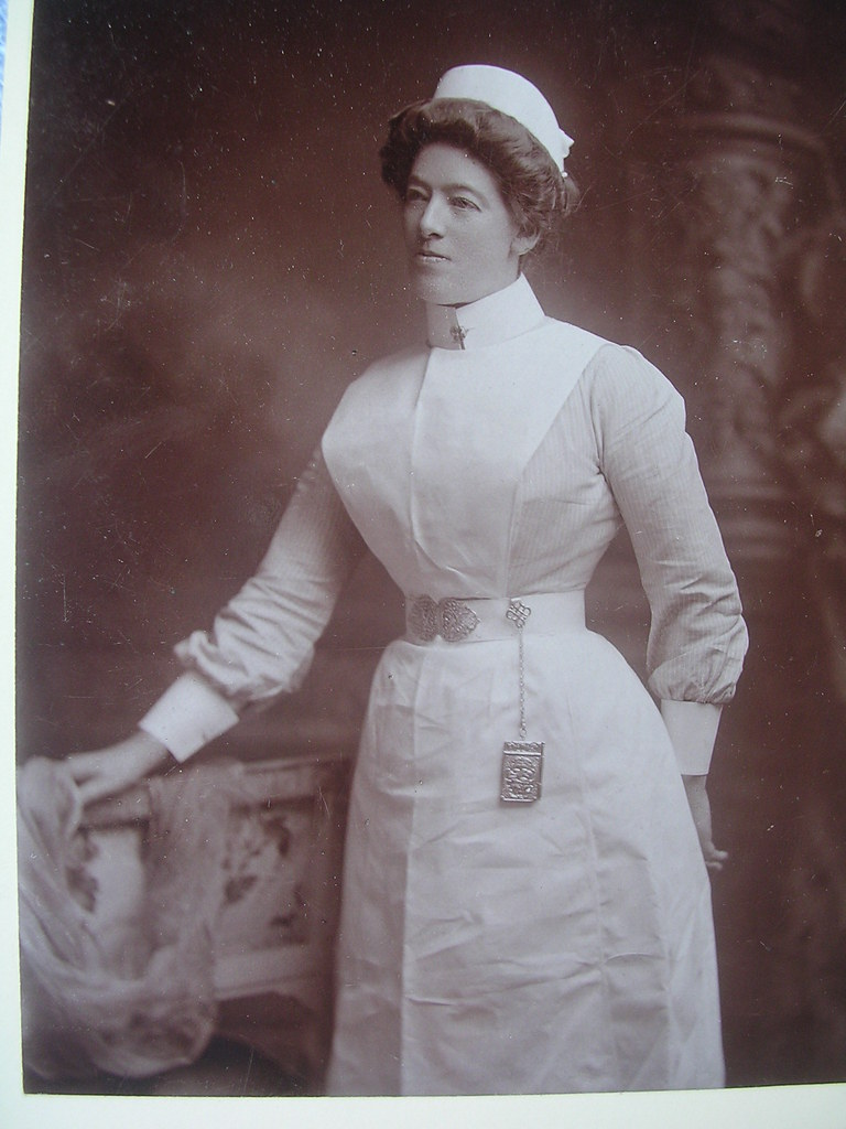ef2f6d3bcb8 Victorian British Nurse | This is a cabinet photo of a rathe… | Flickr