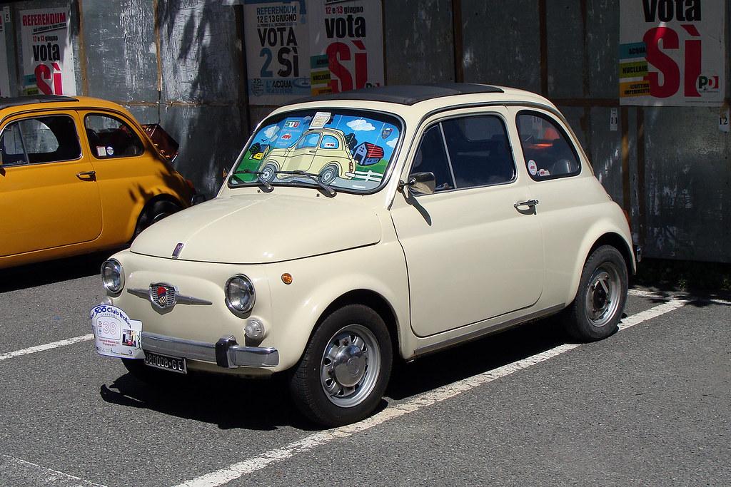 Fiat 500 Giannini 1957 2017 Sessanta Foto Per I Sessant Flickr