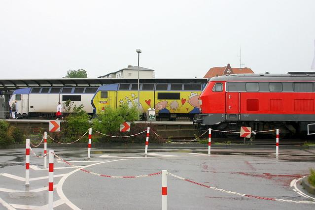 DB/NOB: Dieselloktreffen in Westerland (Sylt)