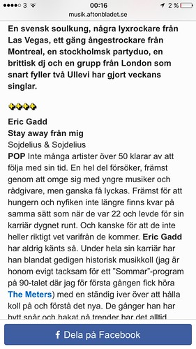 Stay Away Från Mig | by Eric Gadd