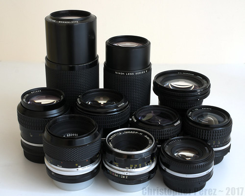 Family Portrait ~ Nikon manual focus lenses