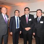 Leonardo Miranda, CIS; Ricardo de la Maza, Grupo Activa; Fernando Barraza, Servicio de Impuestos Internos; Andres Santoro, CIS Consultores