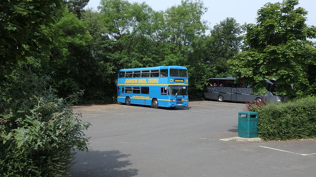 Owning the Coach Park, Castleton.