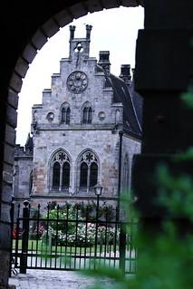 ....Torbogen Burg Bentheim