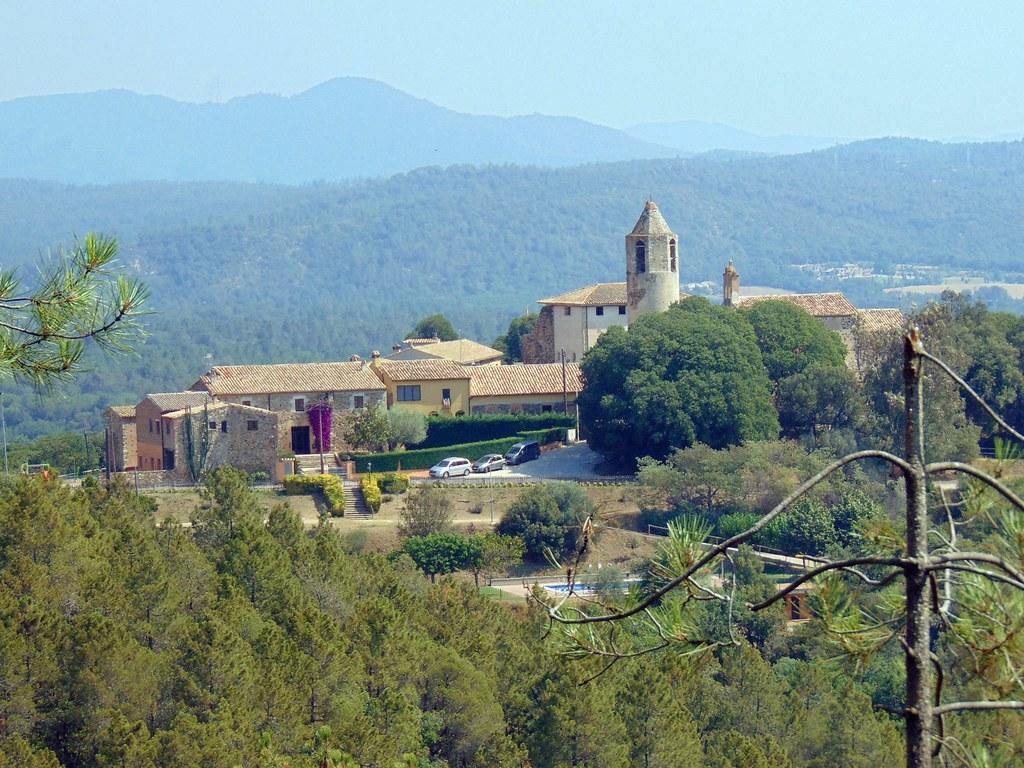 El poble de Brunyola