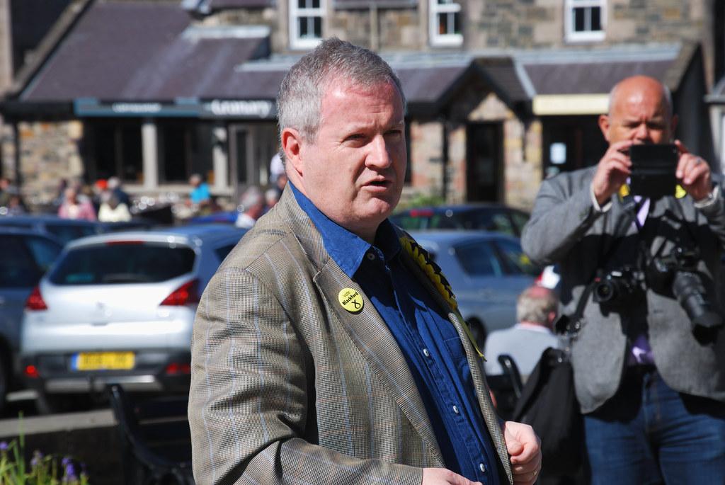 Ian Blackford, Portrigh