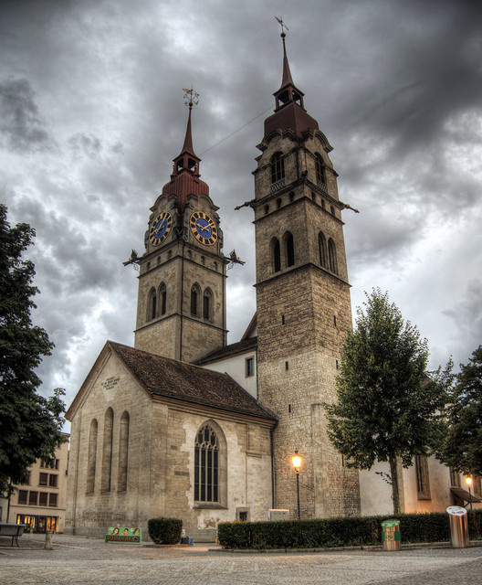 Church in Winterthur, Switzerland
