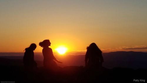 blueridgeparkway sunsetonblueridgeparkway sillhouette sunset mountains virginia