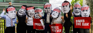 bomb the ban | by International Campaign to Abolish Nuclear Weapons