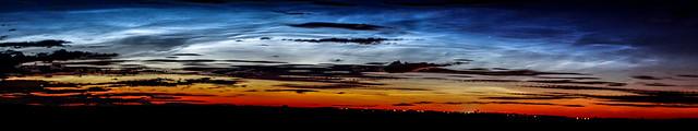 Noctilucent Cloud Panorama 03/07/17