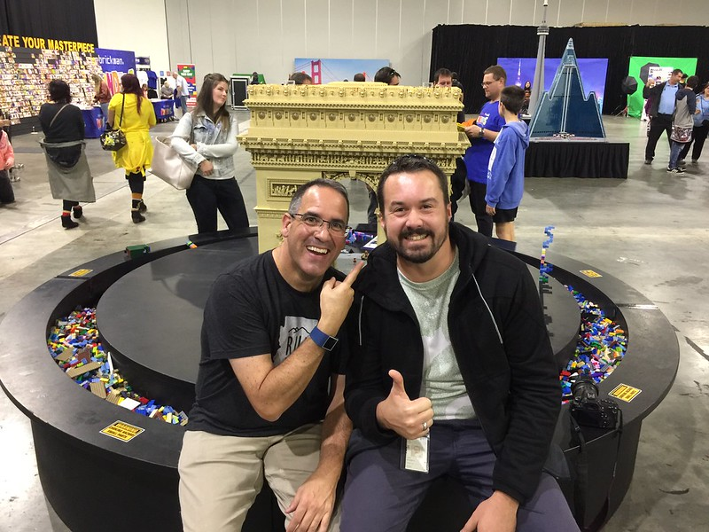 A photo with the Brickman!