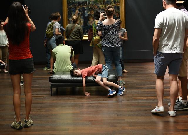 Renoir, Schwemoir . . . OMG another day in a museum!