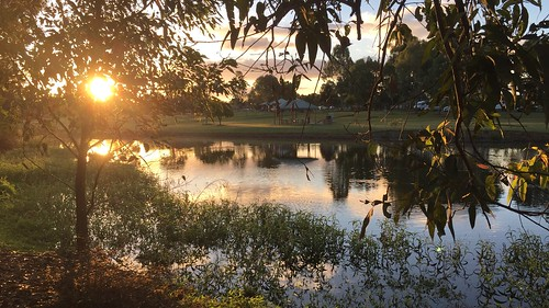 2017 lake water sunset landscape iphone6plus queensland meadowbrook park riverdale australia logan city