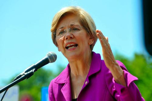 Rally at US Sen 0196 Senator Elizabeth Warren   by mdfriendofhillary