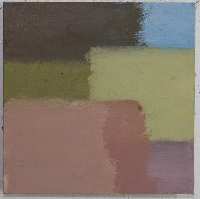 Corresponding L354 20 x 20 cm, Öl,Eitempera/Pigmente 2017