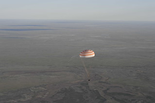 Landing Thomas Pesquet | by europeanspaceagency