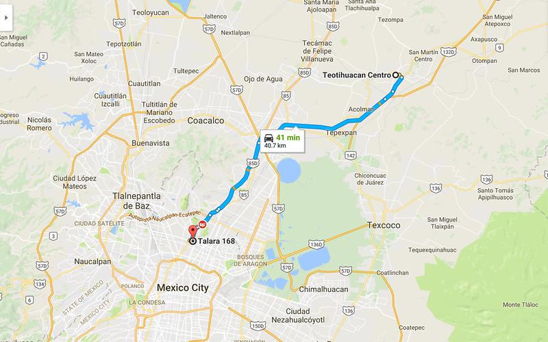 TeotihuacanToMexicoCity