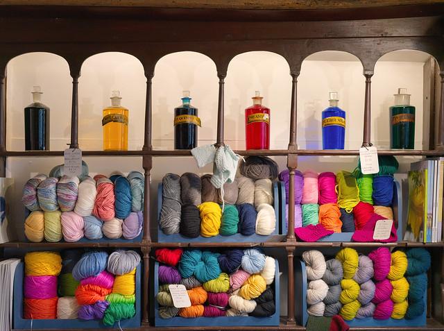 Old Pharmacy wools