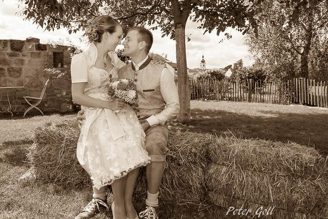 Wedding - sepia