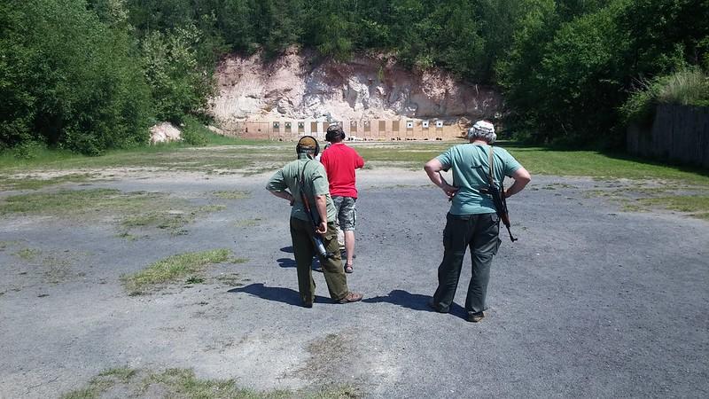 6.6.2015 - Akční puška a pistole