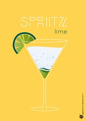 Spritz lime poster