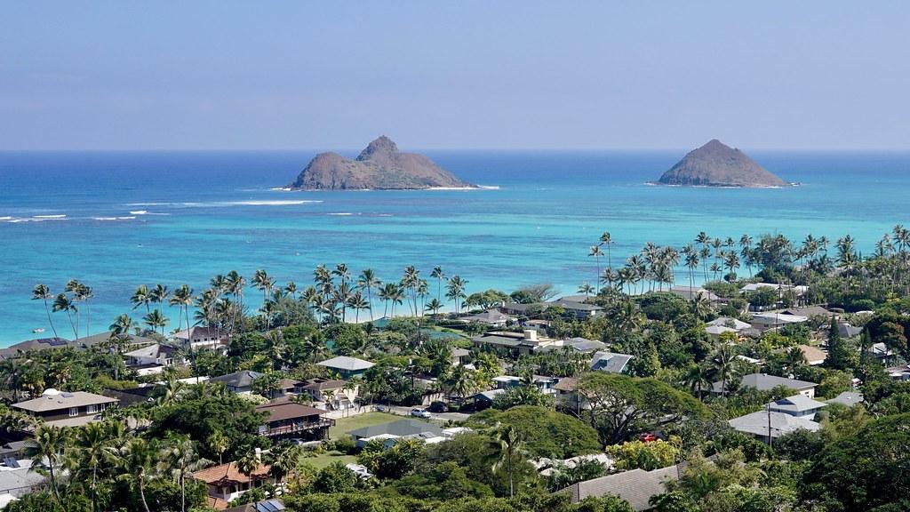 Na Mokulua 'the two islands'