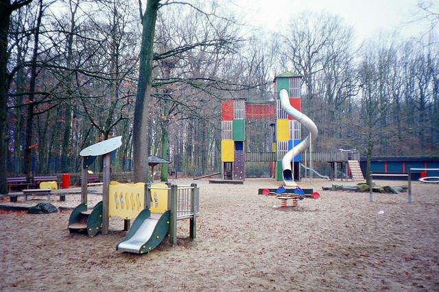 Winter playground - I shot film