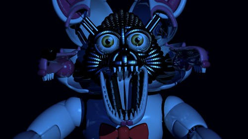 Funtime Foxy Jump Scare   by BarricadeCaptures