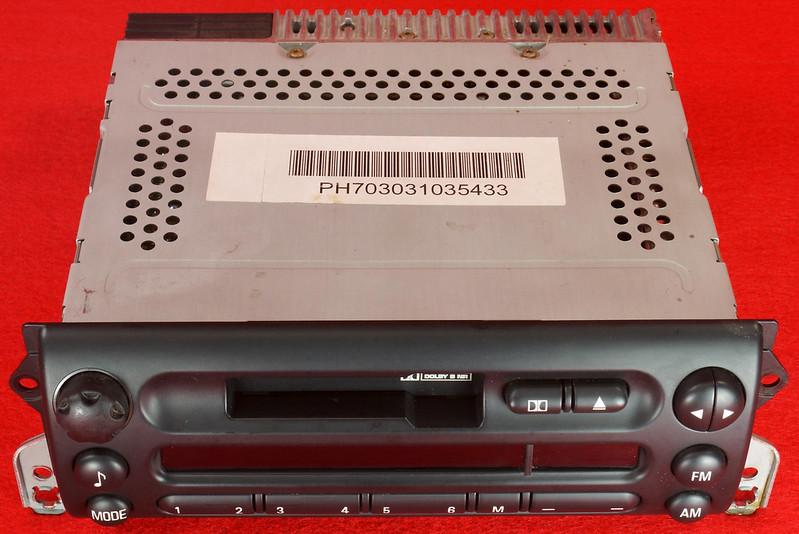RD16592 Original BMW Business Mini R50 R52 R53 Dolby Kassettenradio Cooper One Autoradio 6512 6923503-01 DSC00745