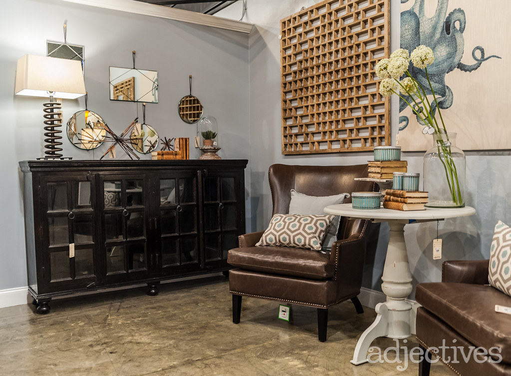 Living room furniture and home decor at Adjectives Altamonte