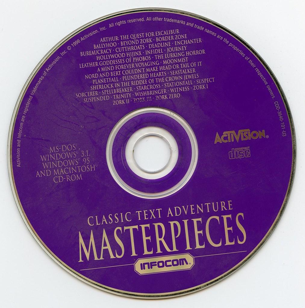 Classic Text Adventure Masterpieces of Infocom (Activision