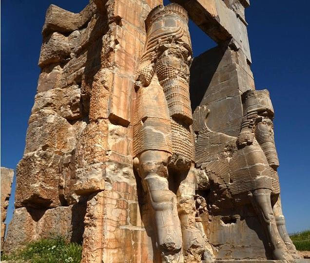 Gate Of Nation Persepolis Iran Shiraz One Of Historical Flickr