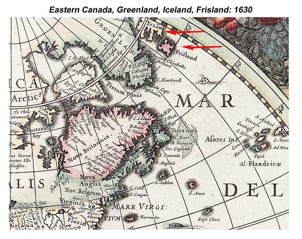 Map Of Canada Greenland And Iceland.Eastern Canada Greenland Iceland Frisland The Big News Flickr