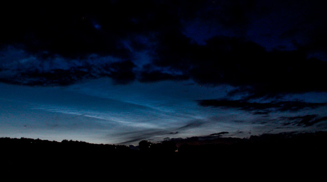 Evening Noctilucent Cloud (1) 03/07/17