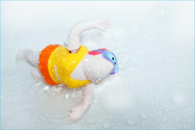 Summer. Only in the bathroom. Splish splash ;-)
